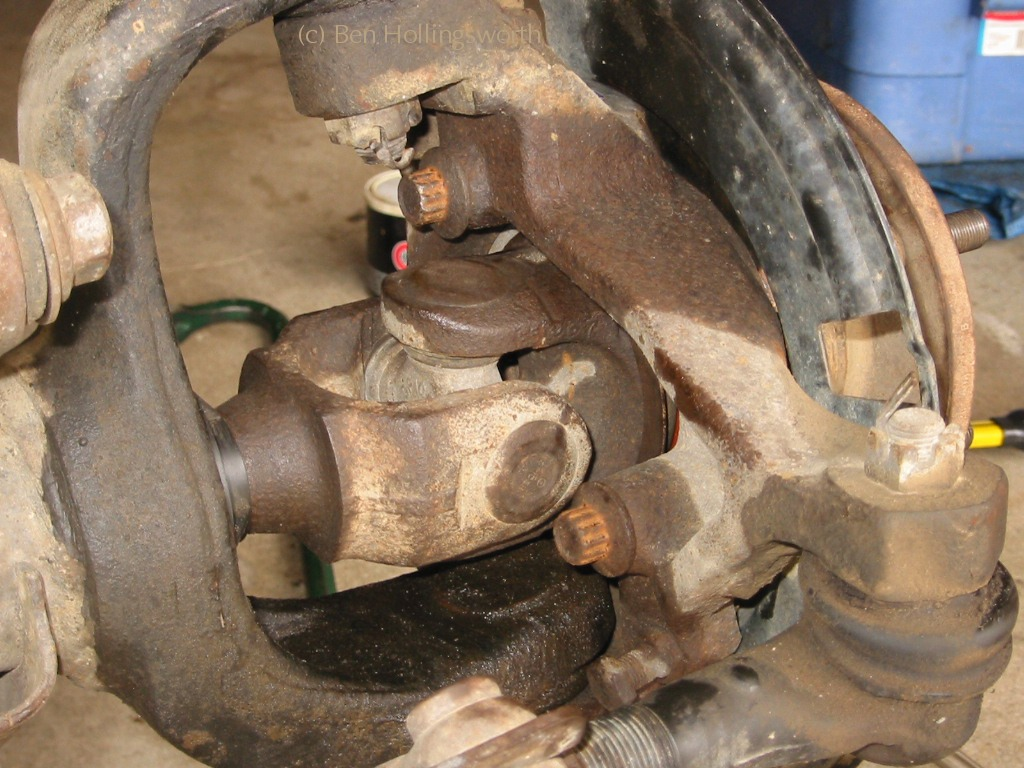 Dana 30 Axle Seal Replacement