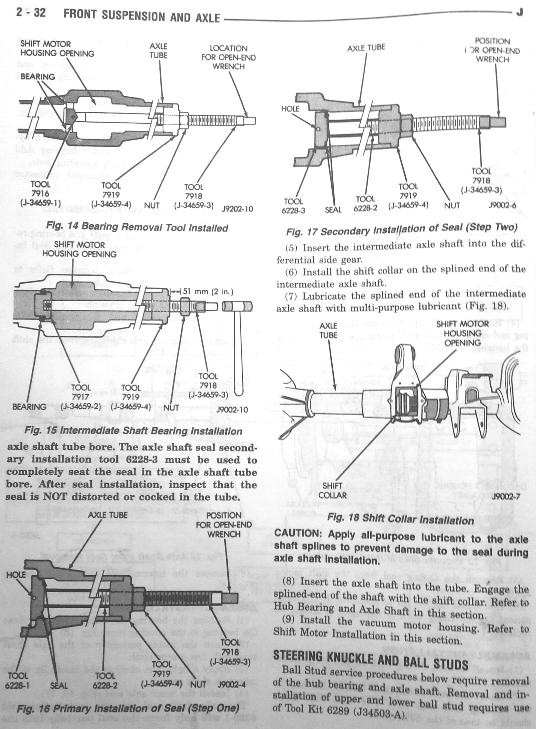 Dana 30 Axle Seal Replacement Jeep Cj Front Diagram On Tj Rear Suspension Back To Obi Wans Popular Mods Page