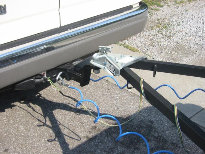 Trailer Wiring Diagram 4 Wire : Yj flat tow setup
