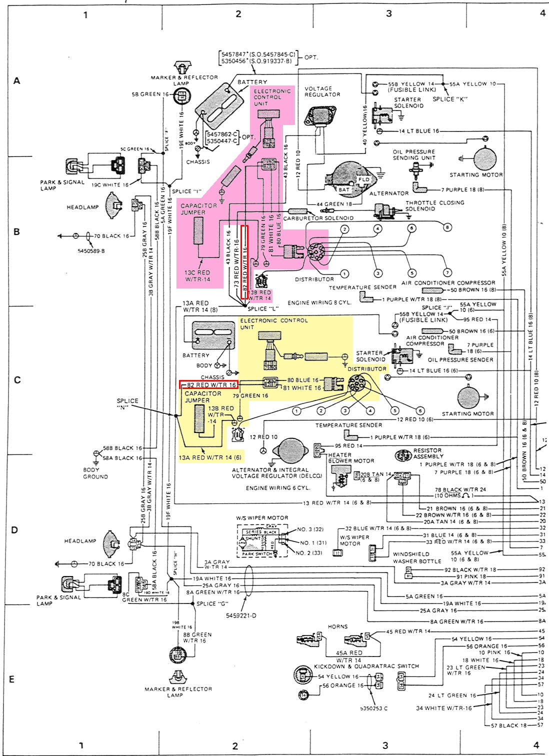 1976 Jeep Ignition Wiring Data Diagram Today Corvette Schematic Msd Amc V Upgrades A 2004