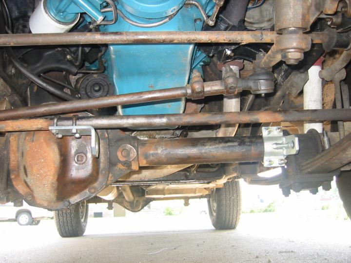 Coil-Over Steering Stabilizer on FSJ