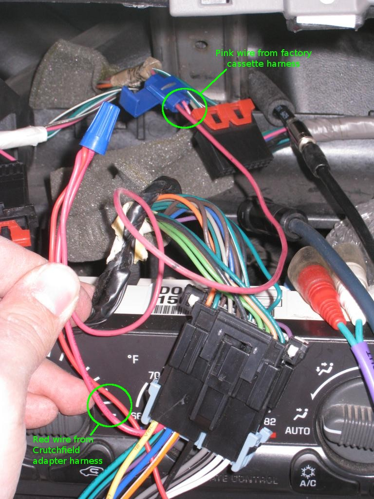 Wiring Harness Car Stereo Install Plug Into Factory Radio Wiring