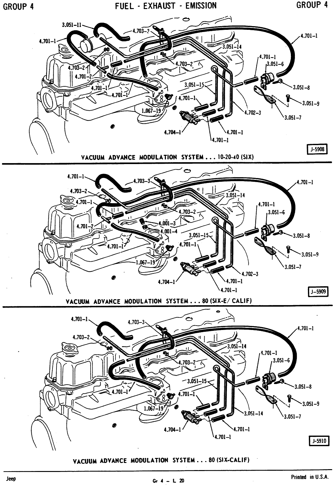 Vacuum Line Routing for Jeep Engines – Jedi.comJedi.com