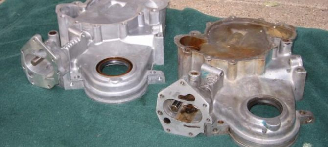 AMC V8 Timing Cover Inspection and Dress Up